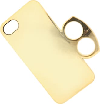 Marc Jacobs iPhone 5 - 5S, Iphone 5 Case, Gold, Metallic, 2017, One size One size