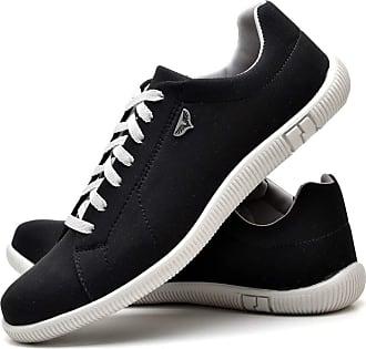 Juilli Sapatênis Sapato Casual Com Cadarço Masculino JUILLI 900DB Tamanho:40;cor:Preto;gênero:Masculino