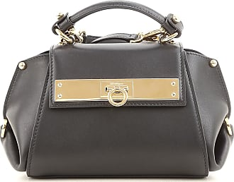 c9e661669e Salvatore Ferragamo® Leather Handbags − Sale  up to −50%