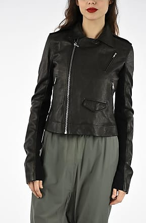 Rick Owens Leather CLASSIC STOOGES Jacket size 42