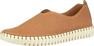 Skechers Sepulveda BLVD Simple Route Womens Slip On Sneakers Chestnut 6