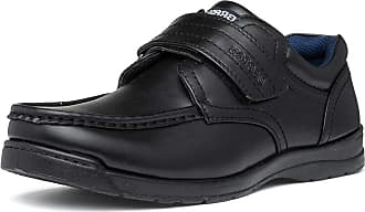 US Brass Mens Black Touch Fasten Shoe - Size 12 UK - Black