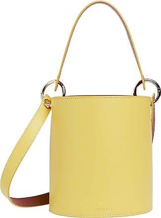 Whistles Genuine Whistles Matilda Bucket Bag With Top Handle - Yellow - New