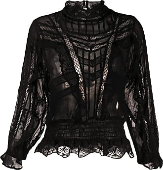 Iro Orrie embroidered blouse - Black