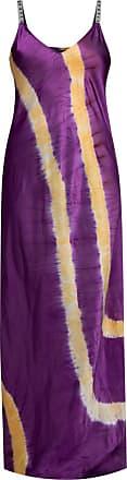 Palm Angels Slip Dress Womens Purple