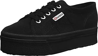 Superga 2790Cotw Linea Up And Down, Womens Low-Top Trainers, Black (996 Full Black), 3.5 UK (36 EU)