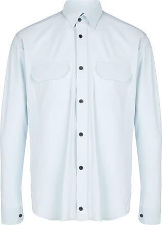 GR10K Camisa com bolso no busto - Azul