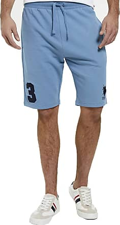 U.S.Polo Association U.S. Polo Assn Mens Player Sweat Shorts - Blue Heaven - XX Large