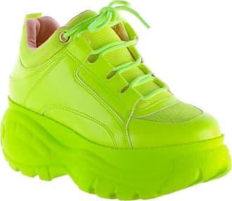 Damannu Shoes Tênis Buffalo Verde Lima Neon - Cor: Verde - Tamanho: 38