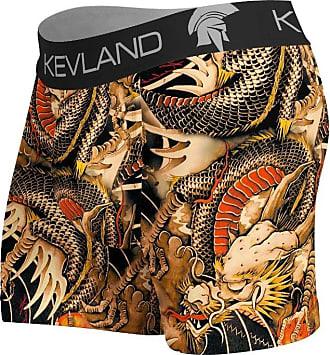 Kevland Underwear Cueca Kevland Boxer Dragon Tattoo Laranja (1, GG)