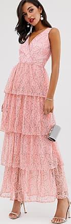 Unique21 Unique21 - Vestito lungo con scollo profondo-Rosa
