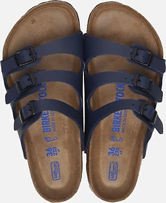 Birkenstock Florida Soft slippers blauw