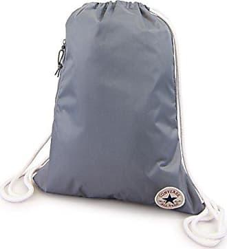 ad2a6de80c1e4 Converse Unisex Turnbeutel Sport Freizeit Tasche Gym Bag Cinch Cool Grey  (grau)