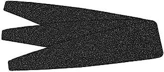 ForPro O-Files Pedi System Refills, Black, 60 Grit, Pedicure Refill Strips, 5.5 L x 1.5 W, 100-Count