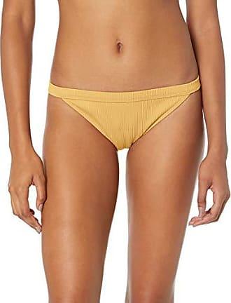 068afb452e7c0 Roxy Juniors Uluwatu Waves Full Coverage Bikini Swimsuit Bottom, Ochre, M