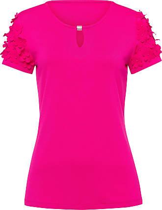 Uta Raasch Round neck top Uta Raasch bright pink