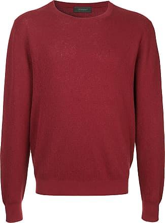 Durban Suéter decote careca - Vermelho