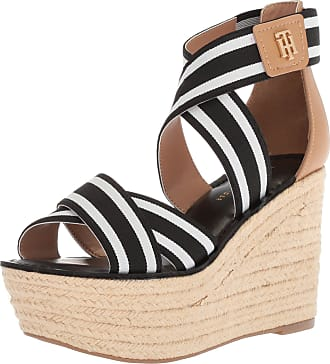 6b6377c31623 Tommy Hilfiger Womens Theia Espadrille Wedge Sandal