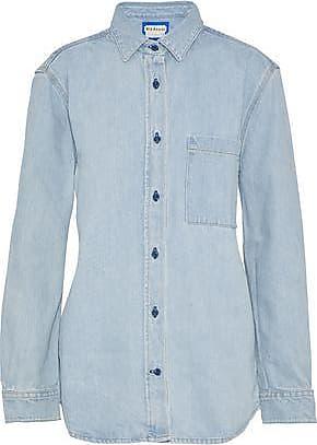 Acne Studios Acne Studios Woman Tar Denim Shirt Light Denim Size 42