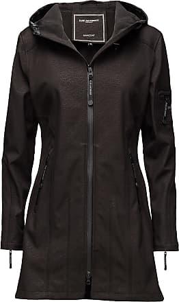 Ilse Jacobsen Hip-Length Softshell Raincoat Regnkläder Svart Ilse Jacobsen