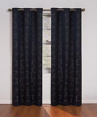 Eclipse Meridian Blackout Window Curtain Panel River Blue - 11250042X095RVB