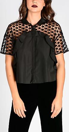 Giambattista Valli Embroidery Asymmetric Cut blouse size 42