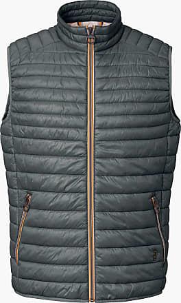 Calamar Menswear Water-repellent quilted waistcoat CALAMAR turquoise