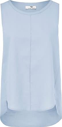 c75aa939de Peter Hahn Tunic top in 100% linen Peter Hahn blue