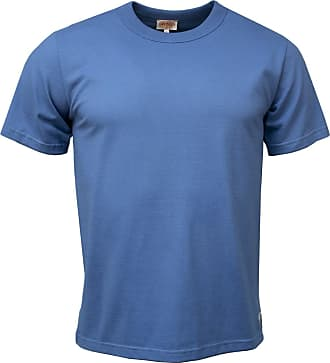 Armor Lux Seersucker Striped Shirt White Moody Blue