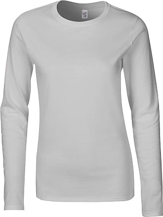 Gildan Gildan Ladies Soft Style Long Sleeve T S Sport Grey (RS)