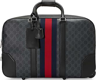 5fdb0138f3 Gucci Sac de voyage cabine en toile Suprême GG souple à roulettes