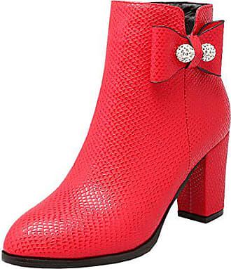 Rote Damen Stiefeletten von Kennel & Schmenger 741127