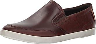 Ecco Mens Collin Casual Slip On Sneaker, Mink, 47 M EU (13-13.5 US)