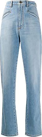 Philosophy di Lorenzo Serafini high-rise straight leg jeans - Blue