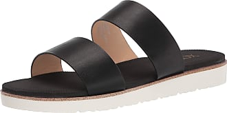 xoxo Womens Dolly Slide Sandal, Black, 8 UK