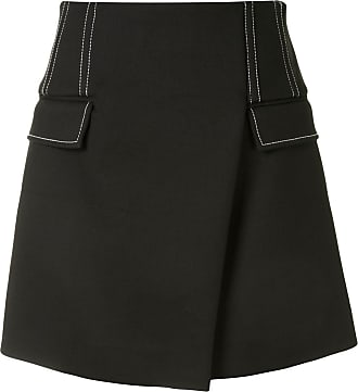Dion Lee Frame mini skirt - Black