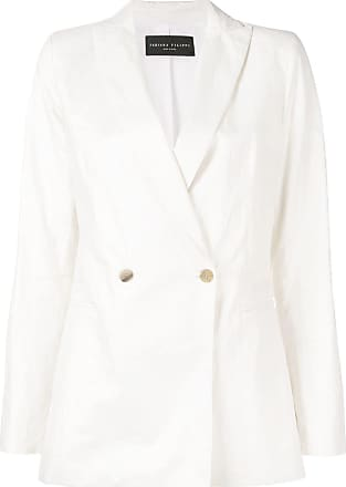 Fabiana Filippi double breasted blazer - White