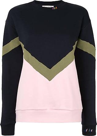 être cécile colour-block sweatshirt - Blue