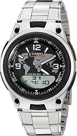 fbf010dfc05 Casio Relógio Masculino Casio Anadigi Aw-80d-1a2vdf - Prata