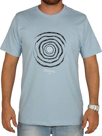 Hurley Camiseta Estampada Hurley Aspiral - Azul - M