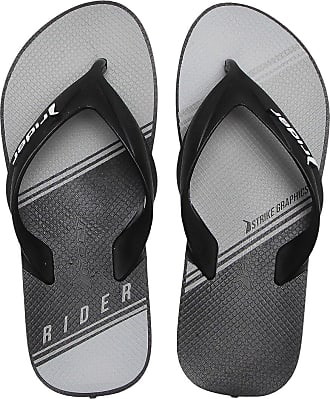 Rider Chinelo Rider Strike Graphics Cinza