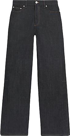 Fenty Puma by Rihanna Calça jeans pantalona cintura alta - Azul