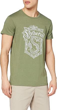 Harry Potter Mens T-Shirt, Vert, L