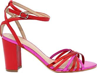 f7d2636d0d531 Guess Womens Sandals Red Size  8 UK
