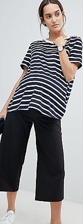 Asos Maternity ASOS DESIGN Maternity mix & match culottes with elasticated waist-Black