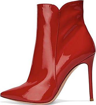 feb9f124c9a568 Stiefeletten Mit Absatz in Rot  241 Produkte bis zu −40%