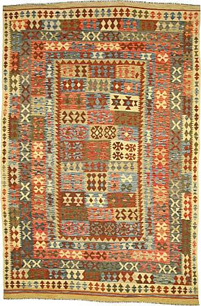 Nain Trading 296x196 Tappeto Orientale Kilim Afghan Beige/Marrone (Afghanistan, Lana, Tessuto a mano)