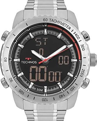 Technos Relógio Technos Masculino TS Digiana Prata W23745AA1P