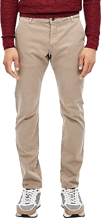 Q/S designed by Mens 44.899.73.2397 Trouser, Beige (Coriander 8235), 24 (Size: 32/32)
