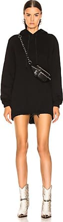 Cotton Citizen Milan Hoodie Dress in Black
